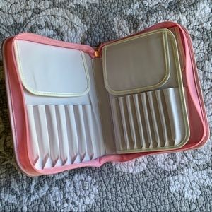 EMPTY Luxie brush organizer for 30 makeup brushes